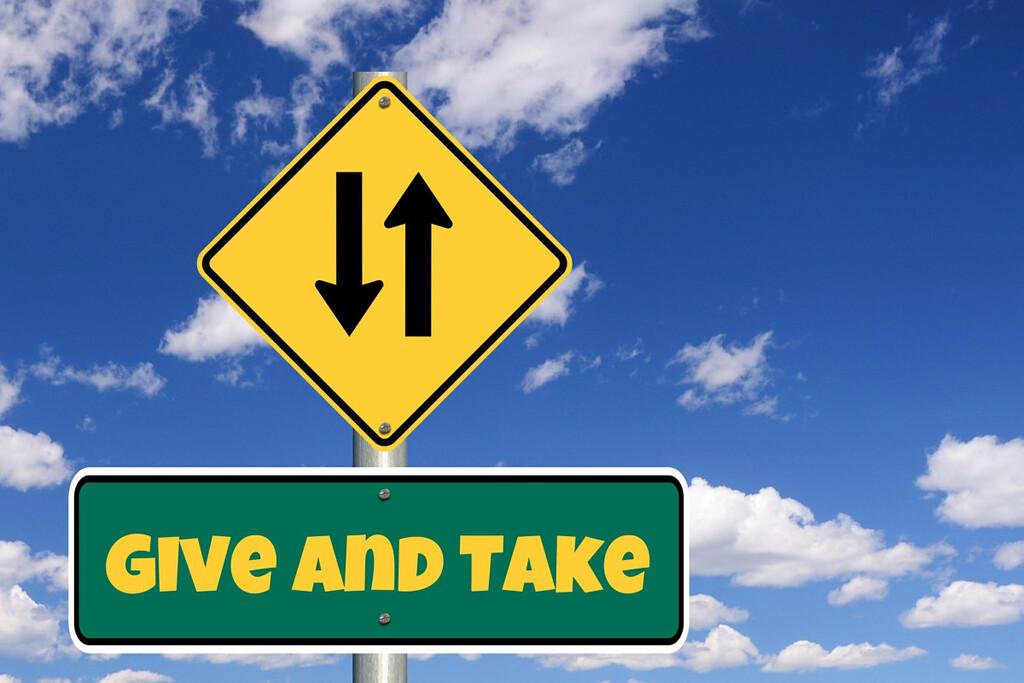 Business Knigge, Reziprozität, Geben und Nehmen