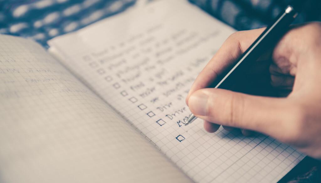 Gute Meetings vorbeiten, Meetings planen mit Checklisten